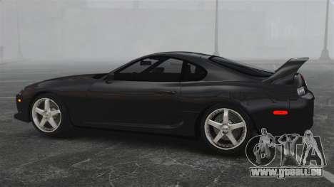 Toyota Supra pour GTA 4 est une gauche