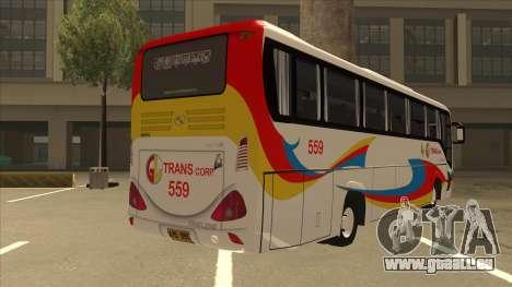 Kinglong XMQ6126Y - GL Trans 559 pour GTA San Andreas vue de droite
