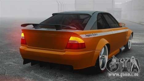 Sultan RS v2.5 pour GTA 4 Vue arrière de la gauche