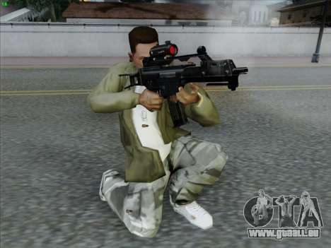 HK-G36C pour GTA San Andreas