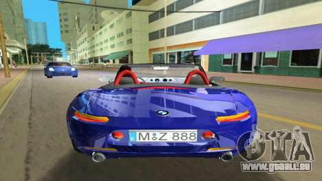 BMW Z8 für GTA Vice City Innen