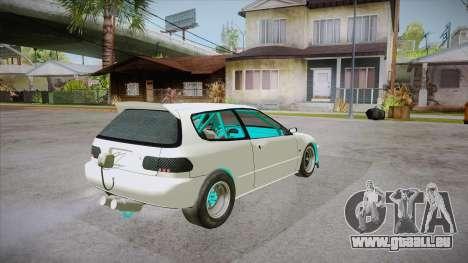 Honda Civic (EG6) Drag Style für GTA San Andreas rechten Ansicht