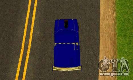 IZH 2715 Novosib Tuning pour GTA San Andreas vue intérieure