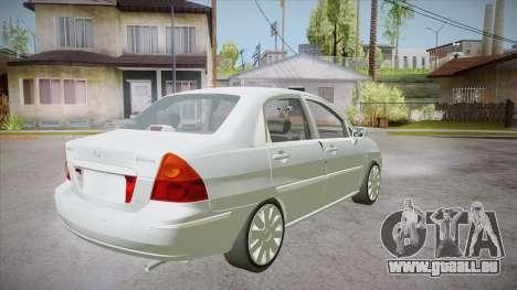 Suzuki Liana 1.3 GLX 2002 pour GTA San Andreas vue de droite