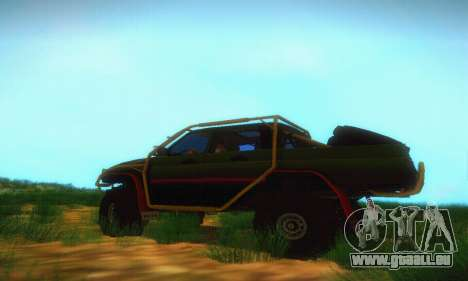 UAZ Patriot camionnette pour GTA San Andreas laissé vue