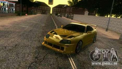 Toyota Supra TRD für GTA Vice City Seitenansicht