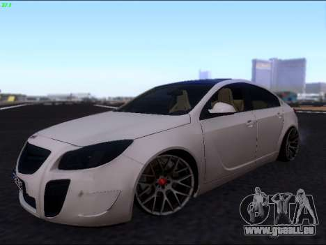 Opel Insignia pour GTA San Andreas vue intérieure