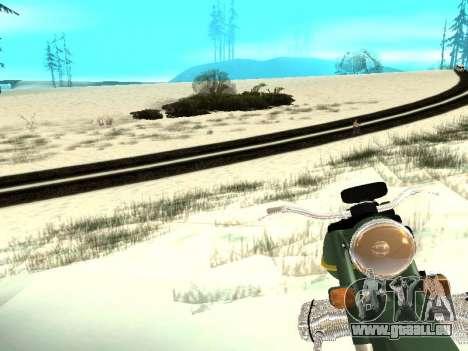 Hiver v1 pour GTA San Andreas dixième écran