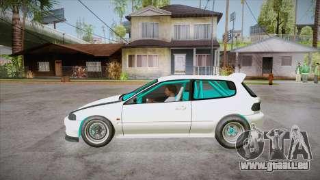 Honda Civic (EG6) Drag Style für GTA San Andreas linke Ansicht