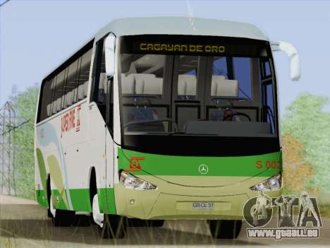 Irizar Mercedes Benz MQ2547 Super Five S 002 pour GTA San Andreas roue
