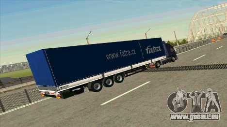 Kogel remorque pour Volvo FM16 pour GTA San Andreas