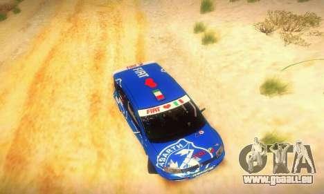 Fiat Panda Rally für GTA San Andreas Seitenansicht