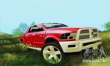 Dodge Ram 2500 HD für GTA San Andreas Seitenansicht