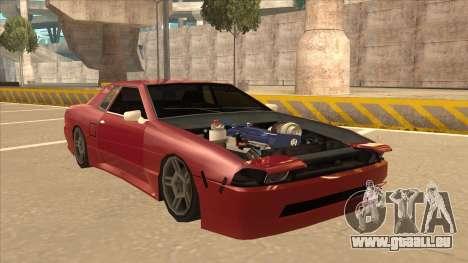 Elegy240sx Street JDM pour GTA San Andreas laissé vue