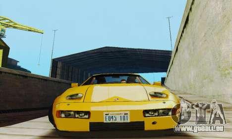 Porsche 928 (1986) v1.1 pour GTA San Andreas vue arrière