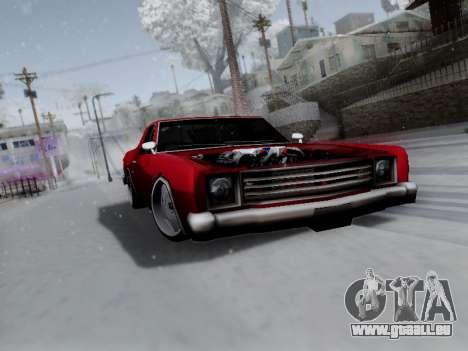 Picador V8 Picadas für GTA San Andreas Innenansicht