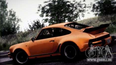 Porsche 911 Turbo 3.3 Coupe 1982 pour GTA San Andreas vue de dessous