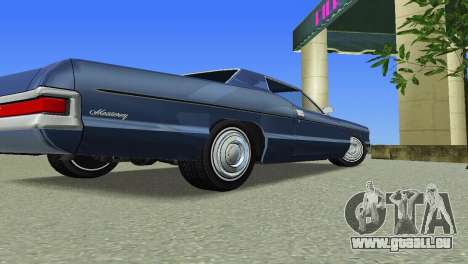 Mercury Monterey 1972 pour GTA Vice City vue arrière