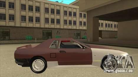 Elegy Drift Missile pour GTA San Andreas sur la vue arrière gauche