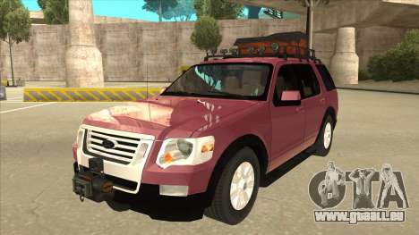 Ford Explorer 2011 für GTA San Andreas