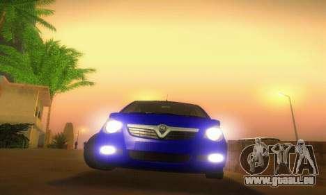 Vauxhall Agila 2011 pour GTA San Andreas vue de côté