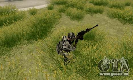 Barrett M82 aus Spiel 4 für GTA San Andreas her Screenshot