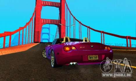 BMW Z4 2005 für GTA San Andreas rechten Ansicht