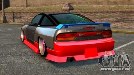 Nissan 240SX für GTA 4 hinten links Ansicht