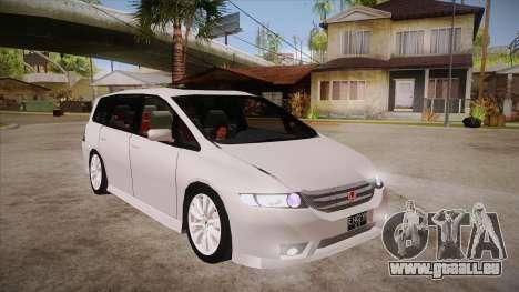 Honda Odyssey v1.5 für GTA San Andreas Rückansicht