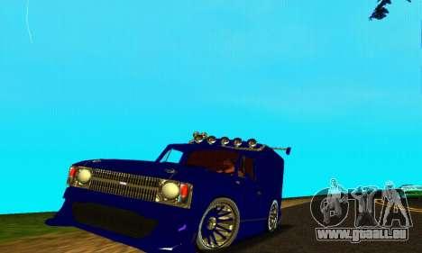 IZH 2715 Novosib-Tuning für GTA San Andreas