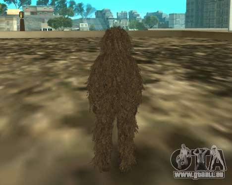 MacMillan pour GTA San Andreas deuxième écran