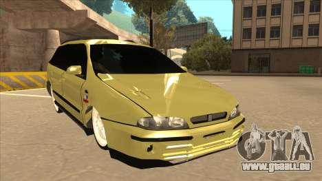 Fiat Marea Weekend pour GTA San Andreas laissé vue