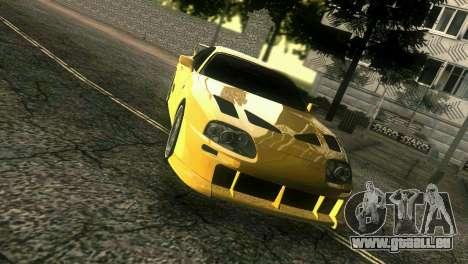 Toyota Supra TRD für GTA Vice City rechten Ansicht
