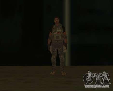 Griggs pour GTA San Andreas troisième écran