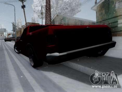 Picador V8 Picadas für GTA San Andreas rechten Ansicht