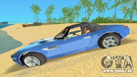 BMW Z8 pour GTA Vice City vue arrière