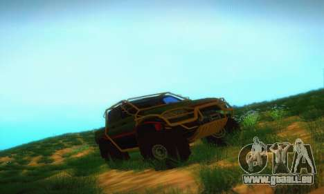 UAZ Patriot camionnette pour GTA San Andreas