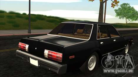 Ford Aspen 1979 für GTA San Andreas zurück linke Ansicht