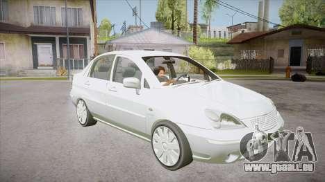 Suzuki Liana 1.3 GLX 2002 pour GTA San Andreas vue arrière
