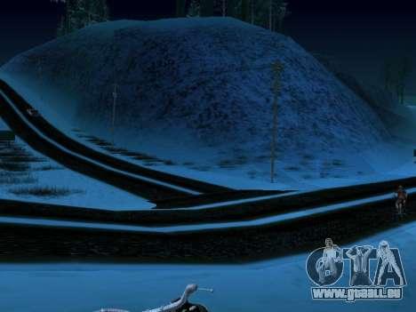 Winter-v1 für GTA San Andreas dritten Screenshot