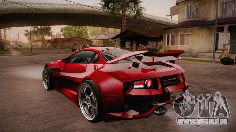 CYBORX CD 10.1s XL-SE Custom für GTA San Andreas zurück linke Ansicht