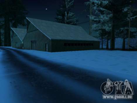 Winter-v1 für GTA San Andreas her Screenshot
