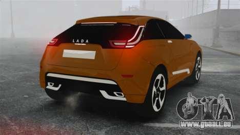 Lada XRay Concept für GTA 4 hinten links Ansicht