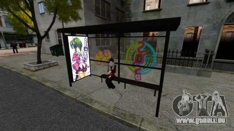 Japanische animation für GTA 4 Sekunden Bildschirm