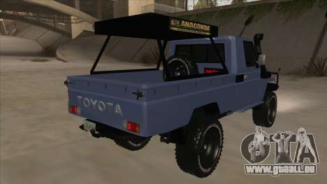 Toyota Machito Pick Up 2009 für GTA San Andreas rechten Ansicht