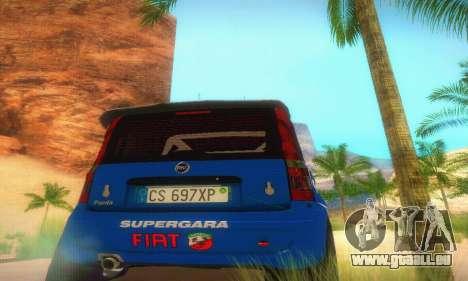 Fiat Panda Rally für GTA San Andreas Innenansicht