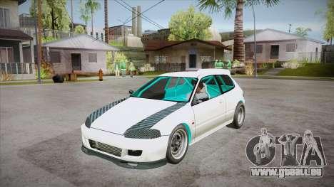 Honda Civic (EG6) Drag Style für GTA San Andreas