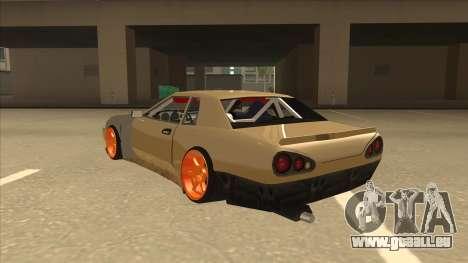 Elegy K22 King Swap für GTA San Andreas Rückansicht
