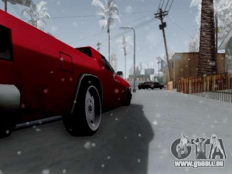 Picador V8 Picadas für GTA San Andreas Rückansicht
