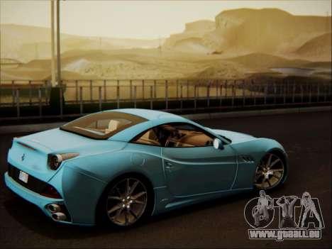 Ferrari California 2009 pour GTA San Andreas vue de côté